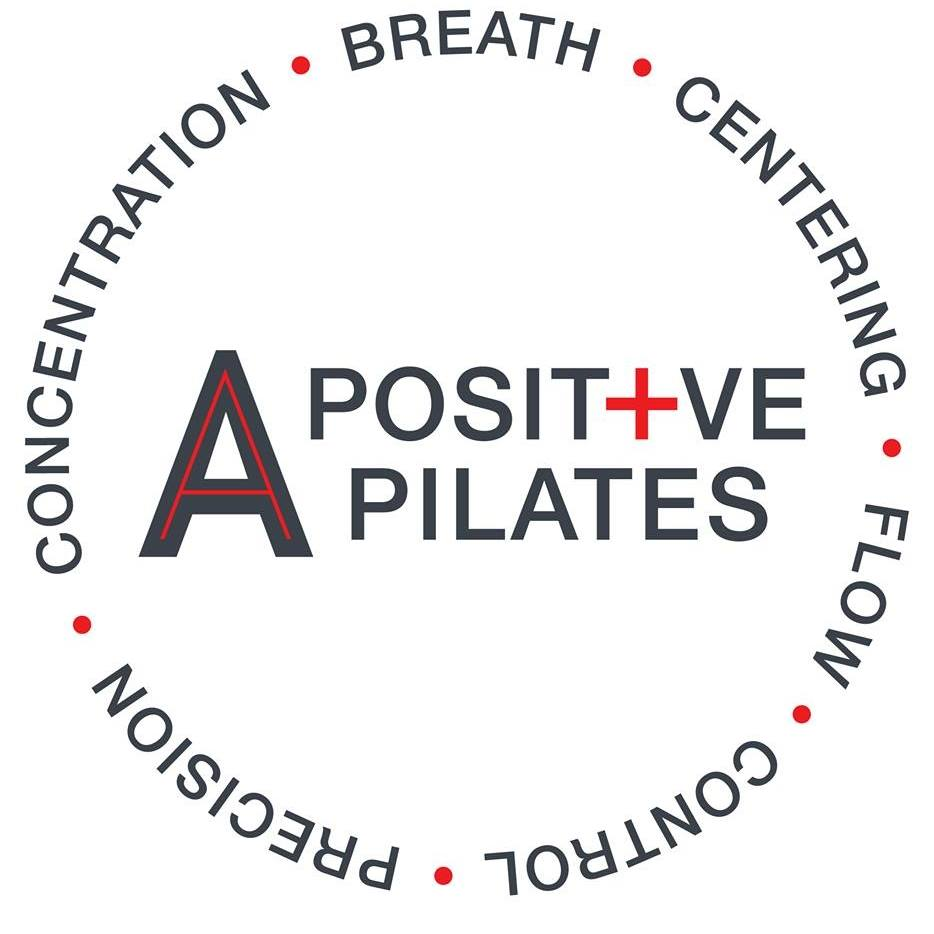 A positive pilates logo