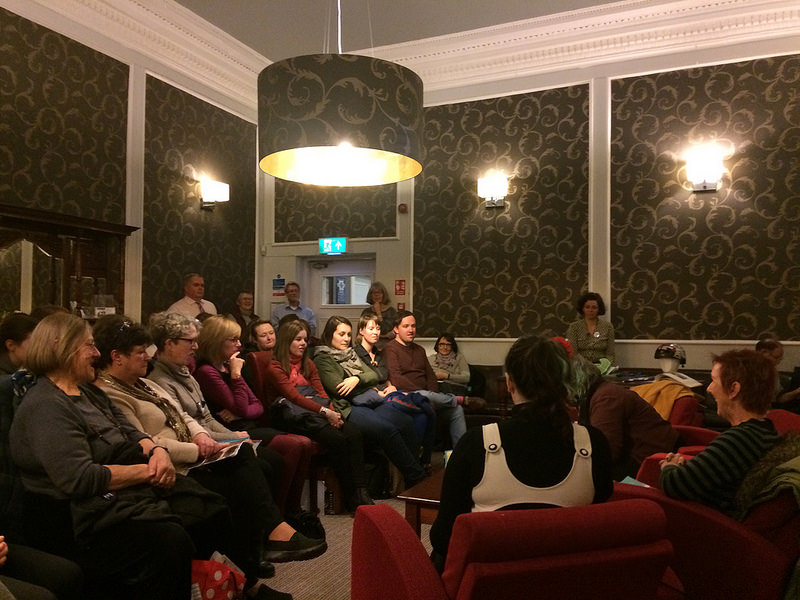 Audience and speakers at Women, Water and Wheels Book Week 2017 event